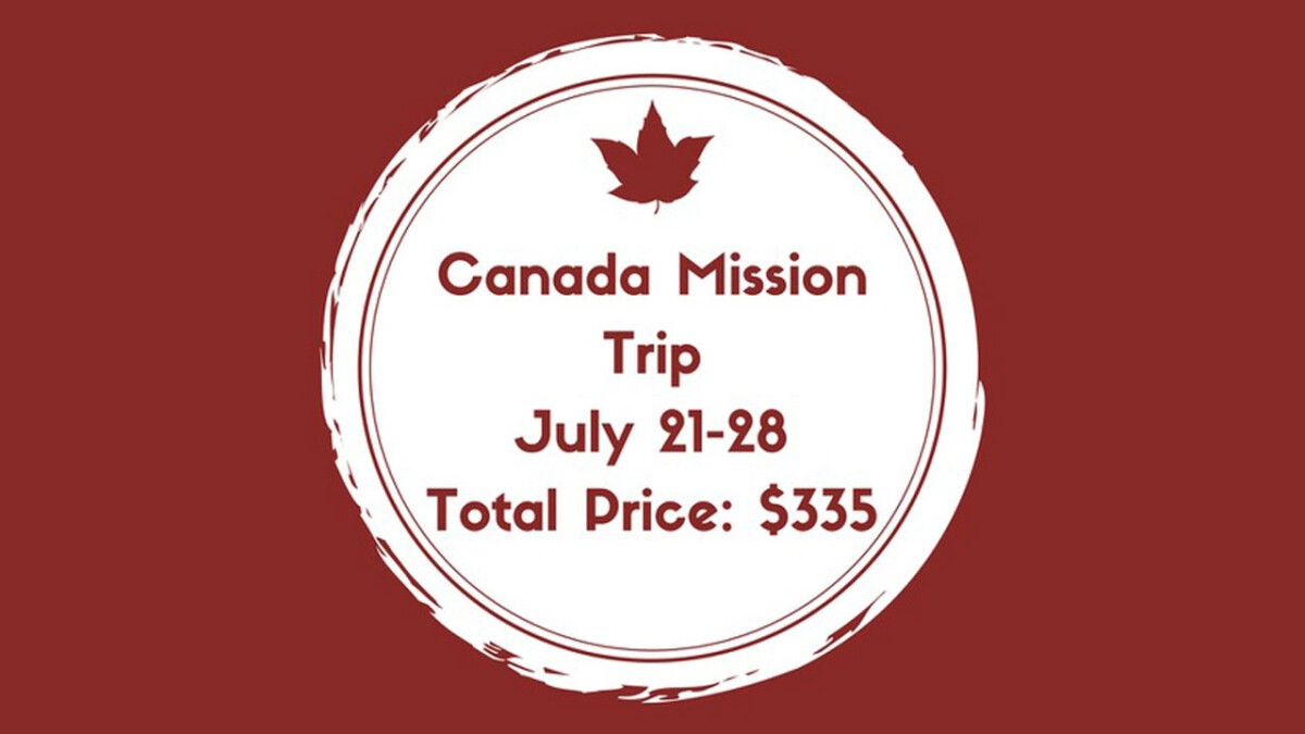 Student Mission Trip to Windsor, Canada