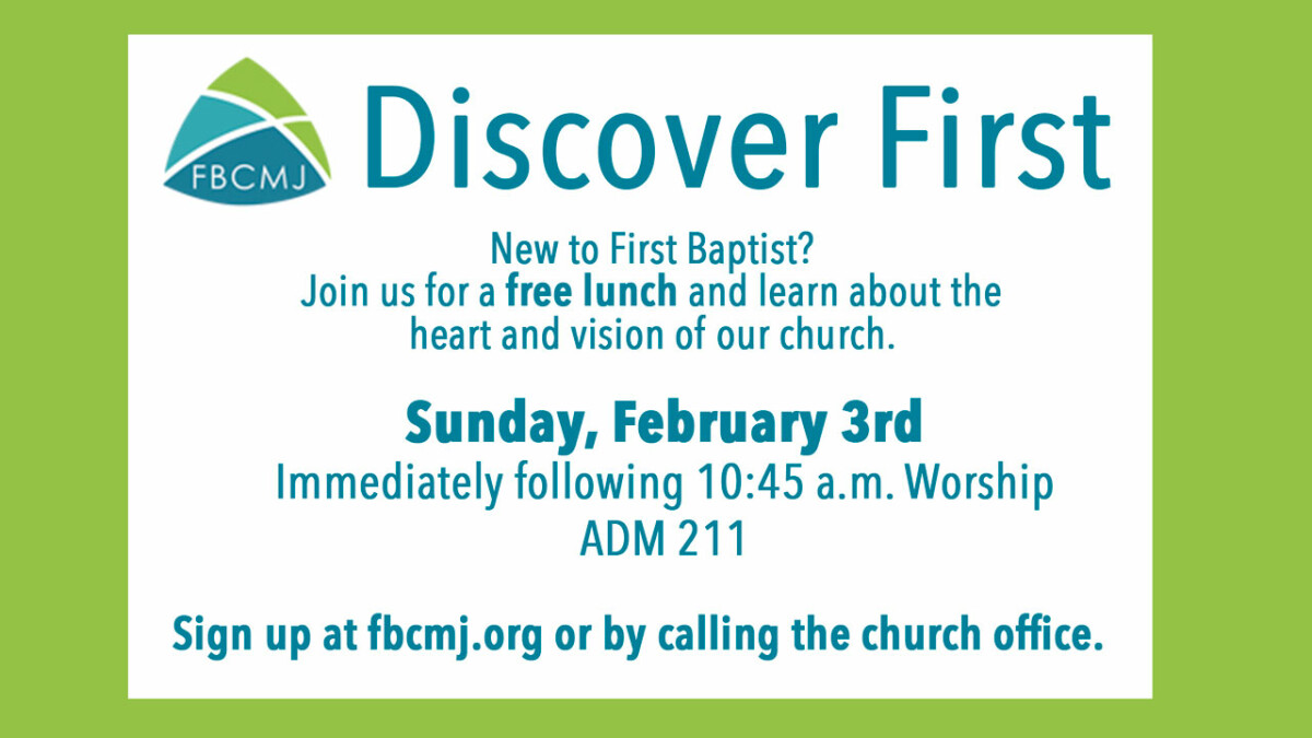 Discover First